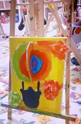 Corso di Pittura creativa de Il Mondo di Naty