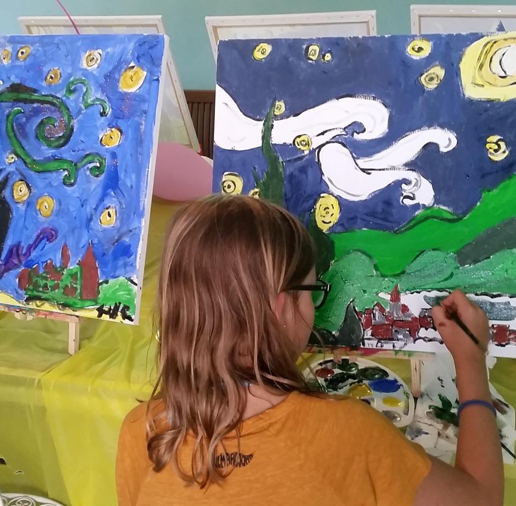 Art Party Il Mondo di Naty