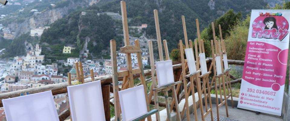 Plein Air ad Amalfi